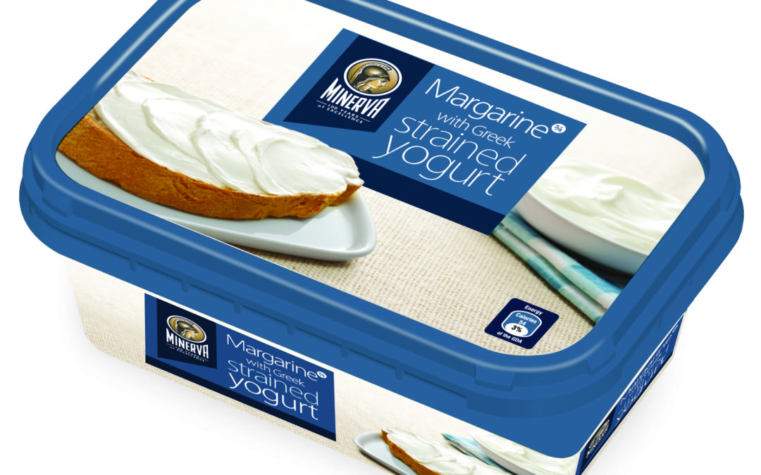 Minerva Margarine (with Greek strained yogurt)