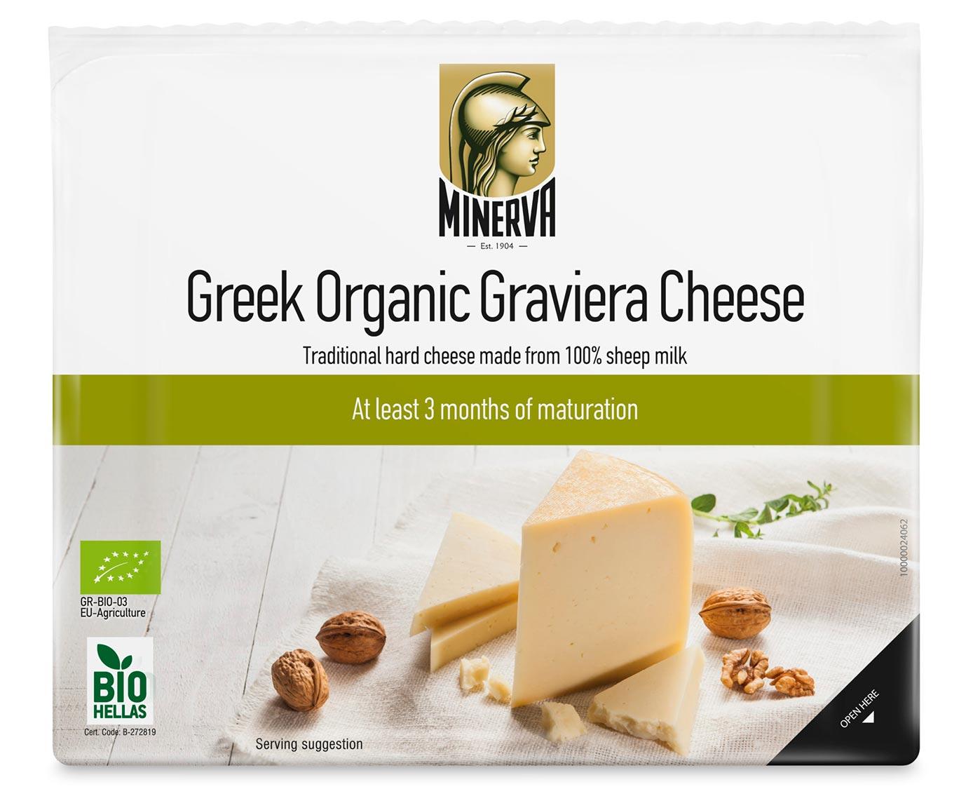 Minerva Organic Graviera Cheese