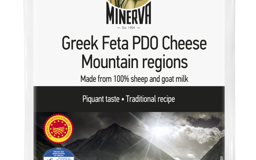 Minerva Feta P.D.O. Cheese Mountain regions