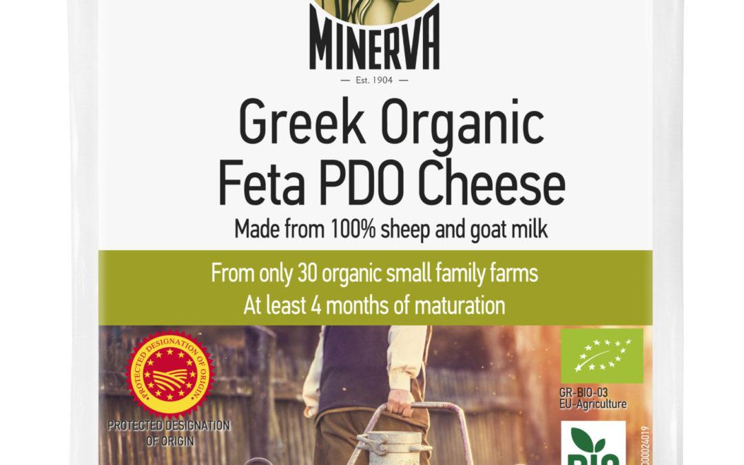 Minerva Organic Feta P.D.O. Cheese