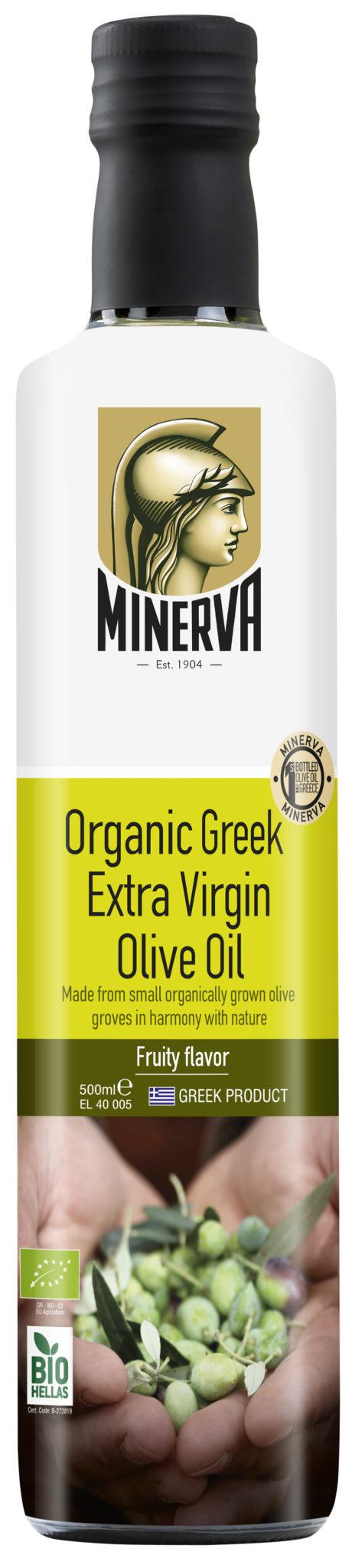 Minerva Organický extra panenský olivový olej