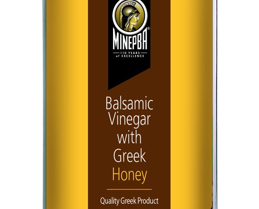 Minerva Balsamic Vinegar with Greek Honey