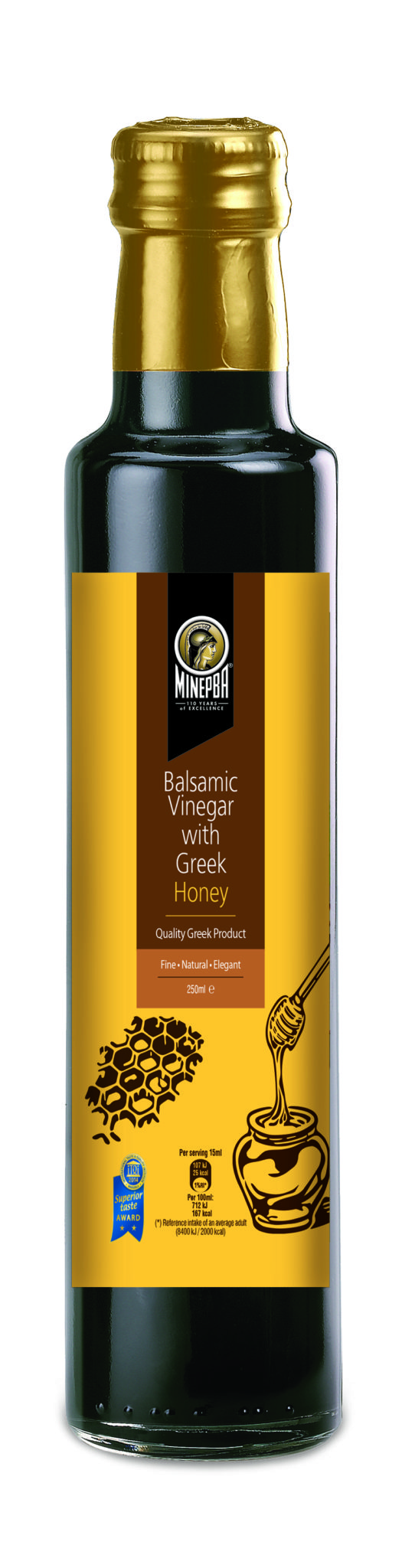 Minerva Balsamic Vinegar with Greek Honey